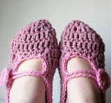 CROCHET EASY SLIPPERS - CROCHET KNIT PATTERN SCARF - Crochet