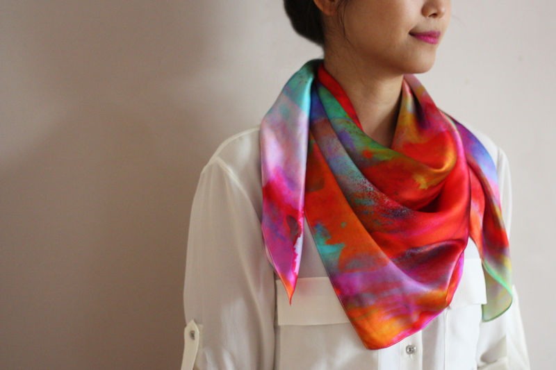 Dreaming Silk Scarf - product images  of