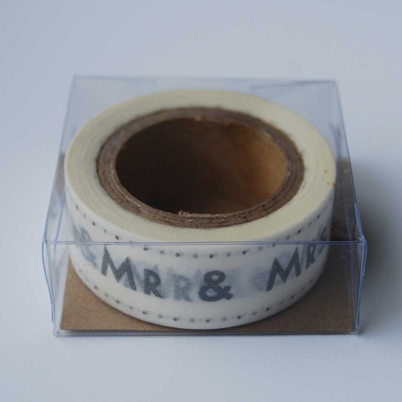 MR & MRS paper tape by East Of India - product images